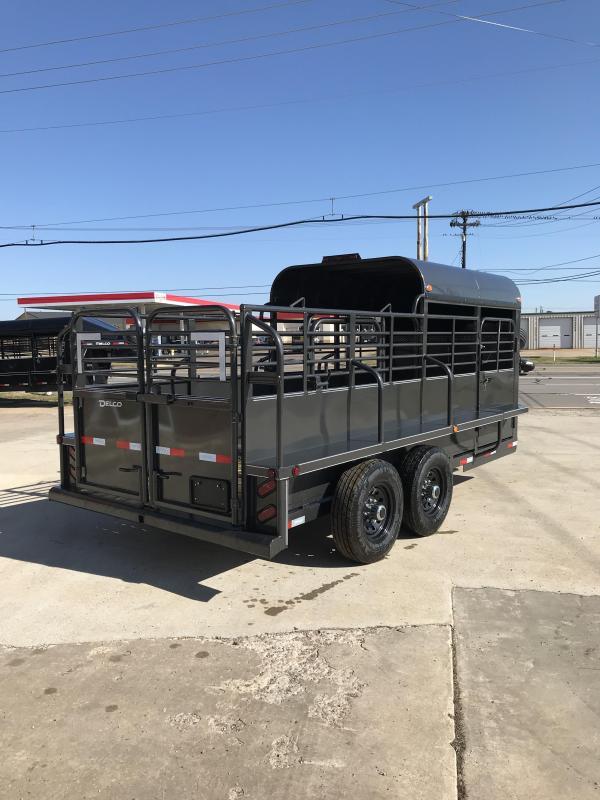 2019 Delco Trailers GP6X1627K Livestock Trailer