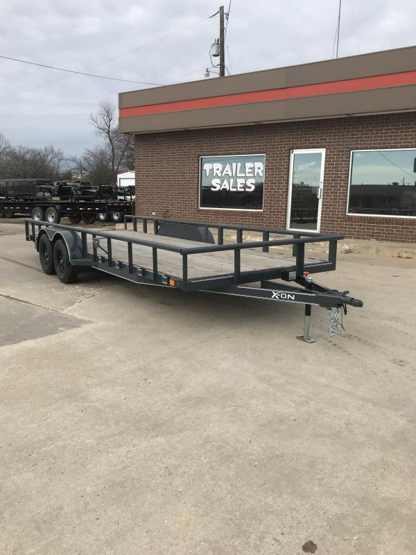 2018 X-On C4-UT832023 Utility Trailer