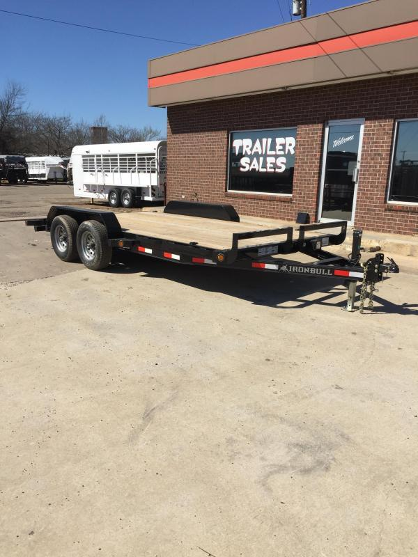 2017 Iron Bull ETB8316052 Equipment Trailer