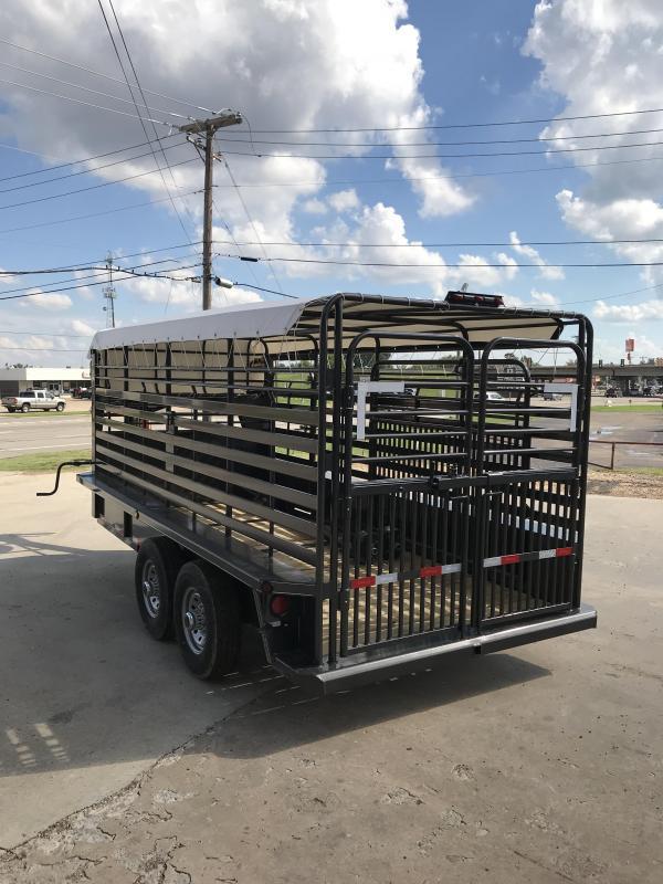 2019 Delco Trailers GB68X1627K Livestock Trailer