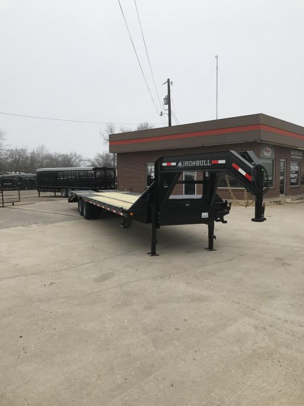 2019 Iron Bull FLG0232102 Equipment Trailer