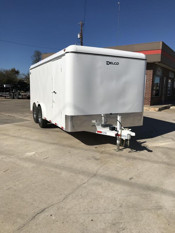 2018 Delco Trailers BE8X1627K Enclosed Cargo Trailer