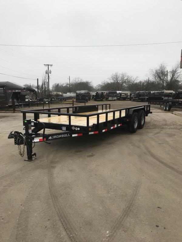 2019 Iron Bull ETB8320072 Equipment Trailer