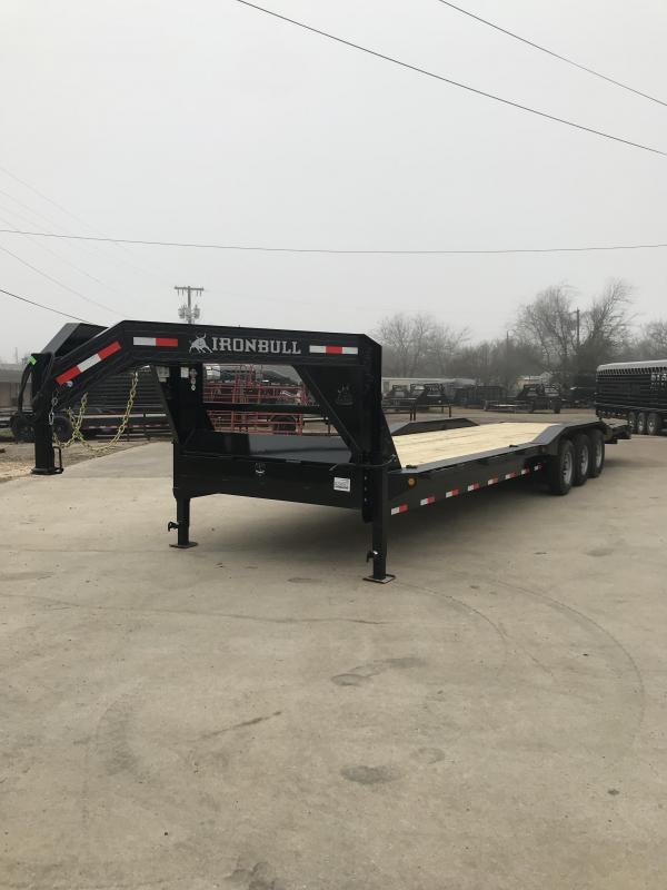 2019 Iron Bull ETG21 - 21000lb GVWR Tandem Axle Gooseneck Equipment Trailer