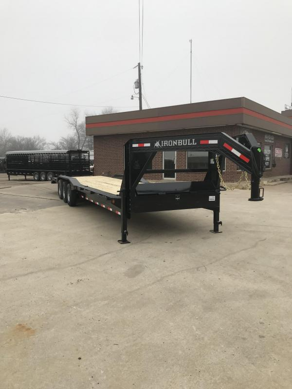 2019 Iron Bull ETG21 - 21000lb GVWR Tandem Axle Gooseneck Equipment Trailer