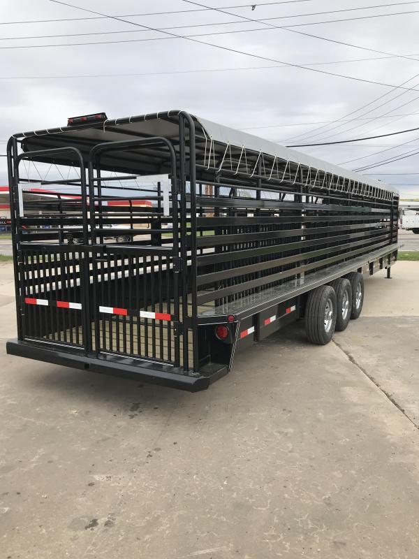 2018 Delco Trailers GB68X3638K Livestock Trailer