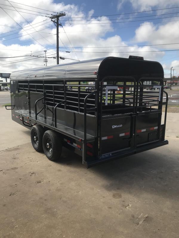 2019 Delco Trailers GP6820270 Livestock Trailer