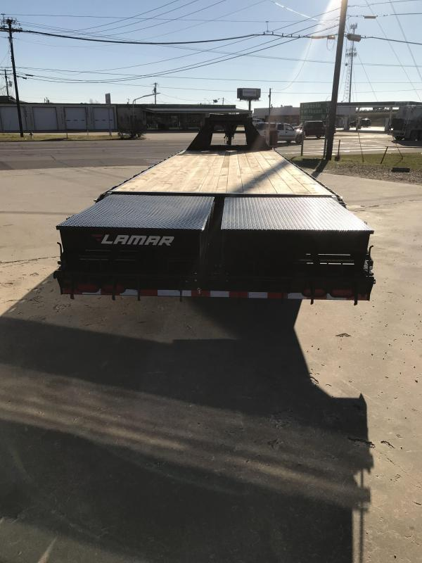 2019 Lamar Trailers 102 X 32 Extreme Duty Deck-Over Flatbed (FD) Flatbed Trailer