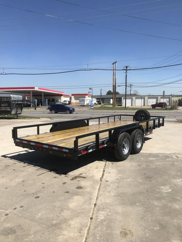 2019 Delco Trailers BC0832027 Equipment Trailer in Midland, AR