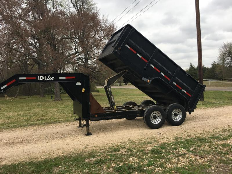 2015 Lonestar GD12 Dump Trailer