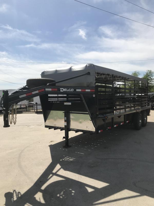 2019 Delco Trailers GB6820270 Livestock Trailer