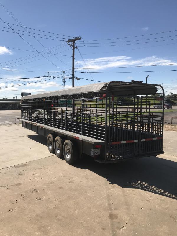 2001 Neckover Trailers NO6832 Livestock Trailer