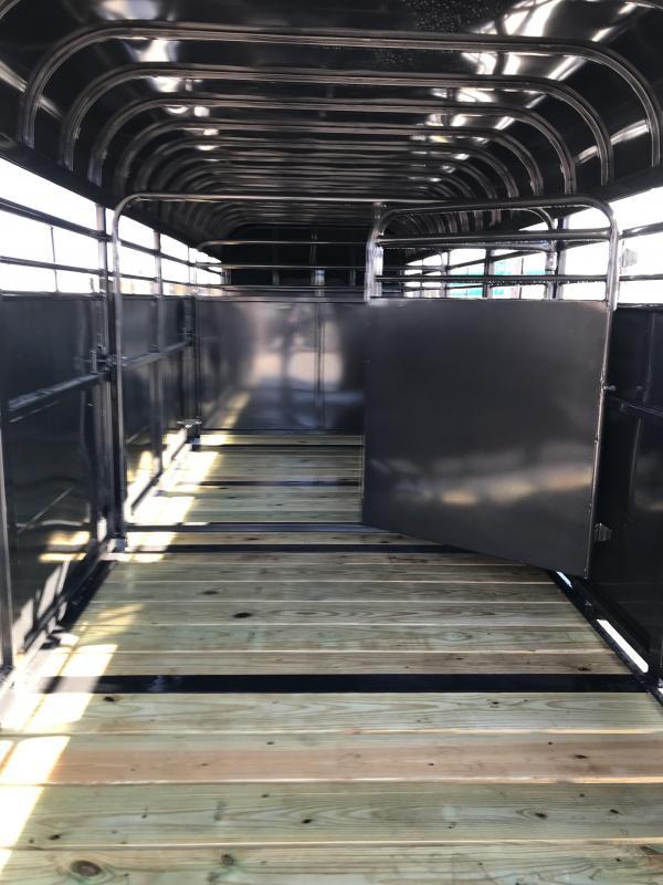 2019 Delco Trailers GP68X2427K Livestock Trailer