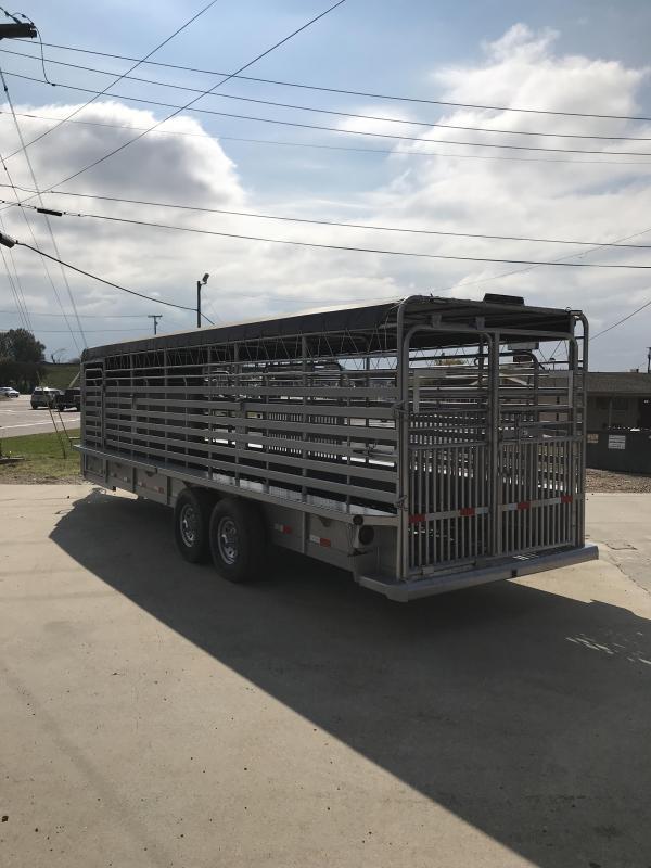 2018 Delco Trailers GB682428K Livestock Trailer