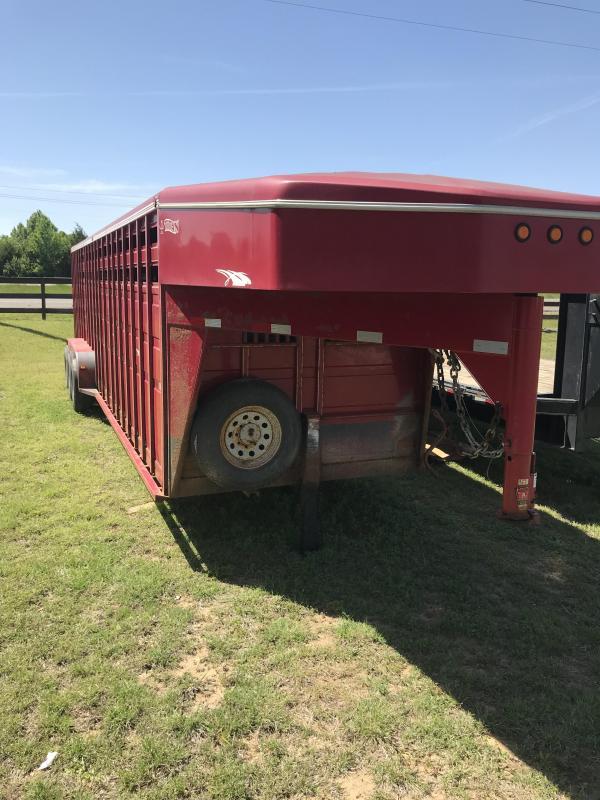 2007 Titan Trailers 1R7468 Livestock Trailer