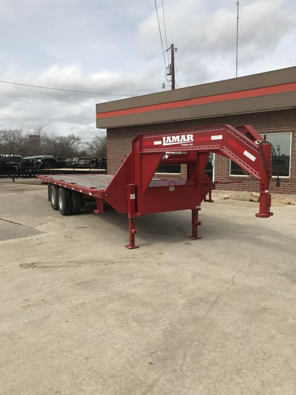 2016 Lamar Trailers FT02242A Flatbed Trailer