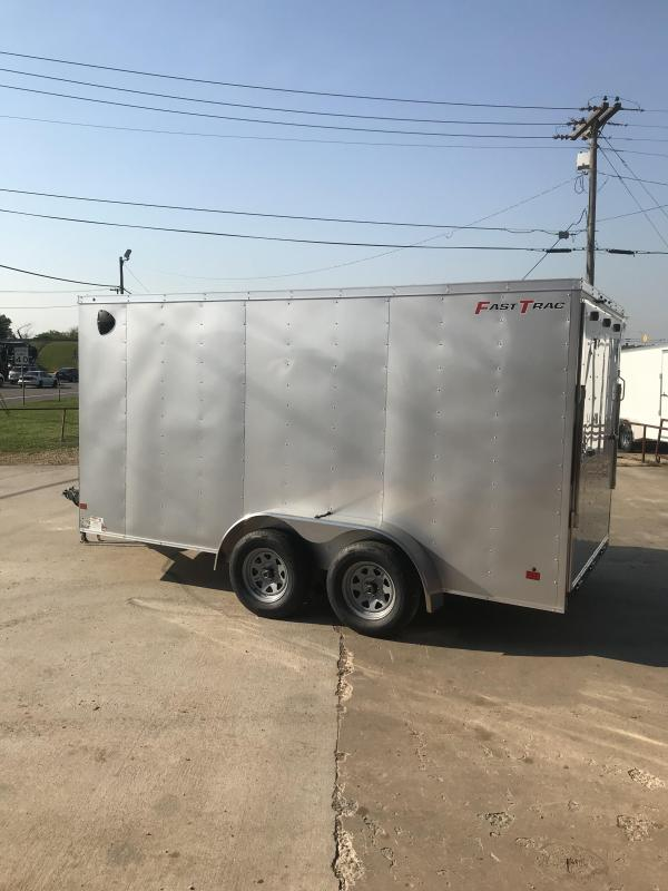 2019 Wells Cargo FT7142 Enclosed Cargo Trailer