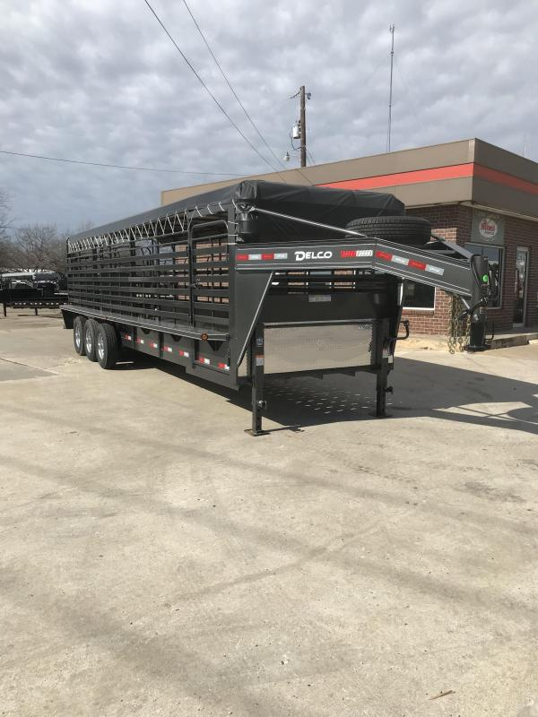 2019 Delco Trailers GB68283701 Livestock Trailer in Ashburn, VA