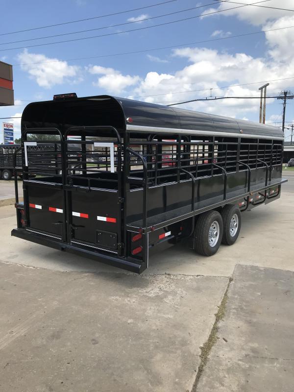 2018 Delco Trailers GP68X2427K Livestock Trailer