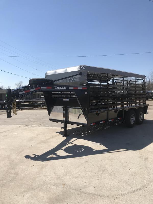 2019 Delco Trailers GB6816270 Livestock Trailer