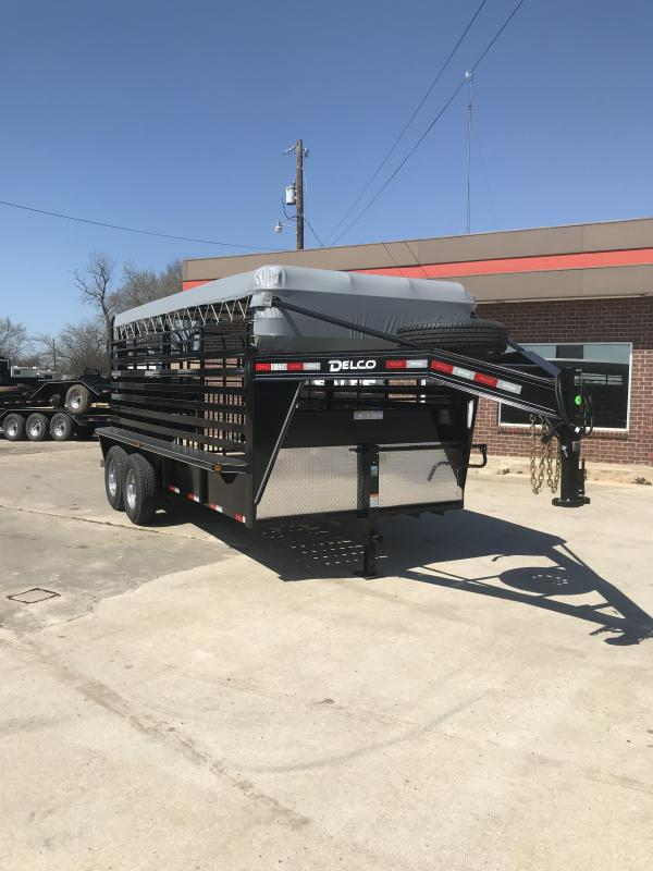 2019 Delco Trailers GB6816270 Livestock Trailer in Ashburn, VA