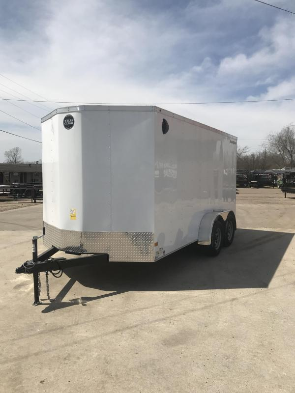 2019 Wells Cargo FT714T2-D Enclosed Cargo Trailer