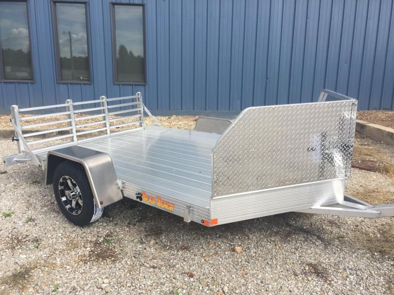 2017 Bear Track Products BTU76132S Motorcycle Trailer
