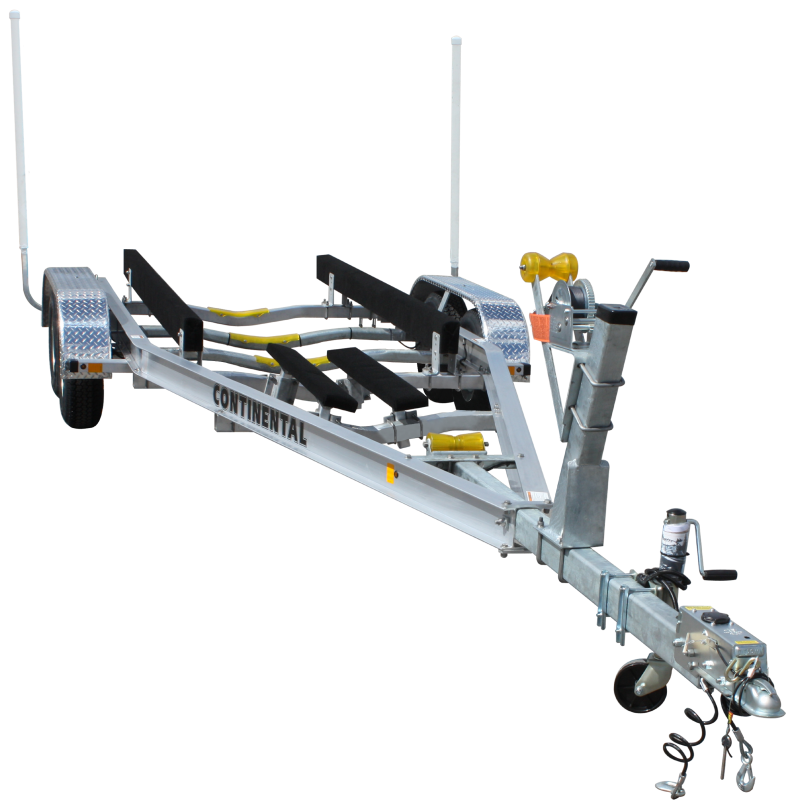 Continental Trailers A2670B  Drive on Boat Trailer