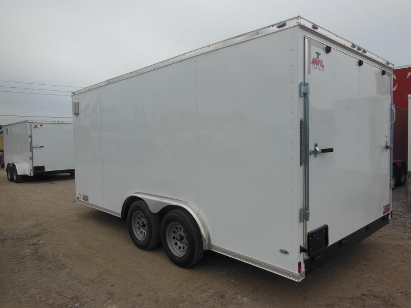 Anvil 8 x 16 Enclosed Cargo Trailer