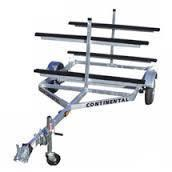 Continental Trailers KT412 Galvanized Canoe/Kayak Watercraft Trailer