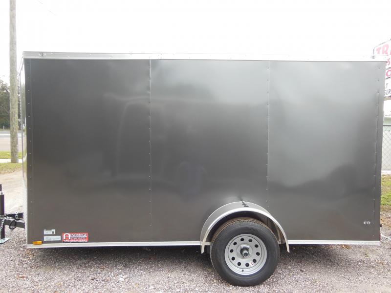 2019 Anvil 6 x 12 LS Enclosed Cargo Trailer
