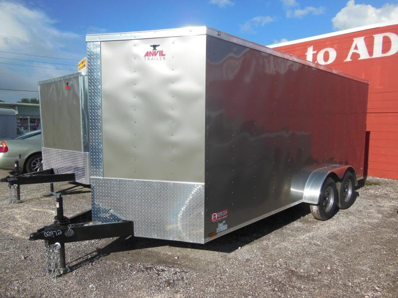 Anvil 7 x 16 Enclosed Cargo Trailer