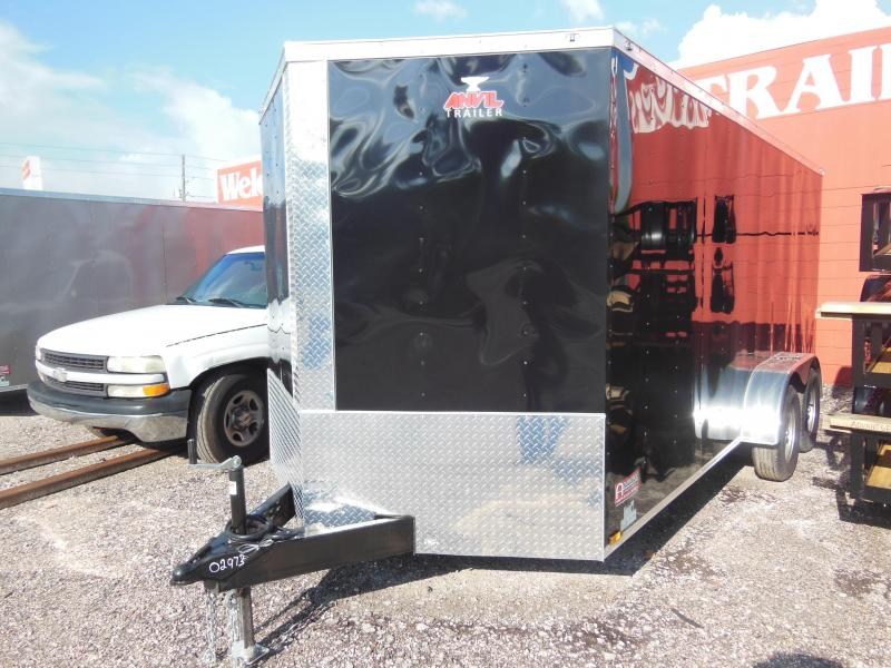 2018 Anvil 7 x 16 Enclosed Cargo Trailer