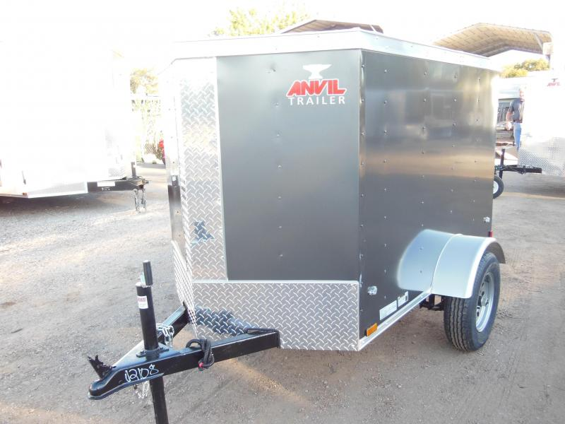 2018 Anvil 4 X 6 Enclosed Cargo Trailer