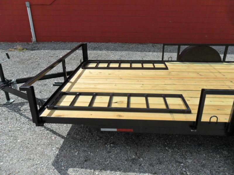 Triple Crown 7 X 12 single axle ATV Trailer