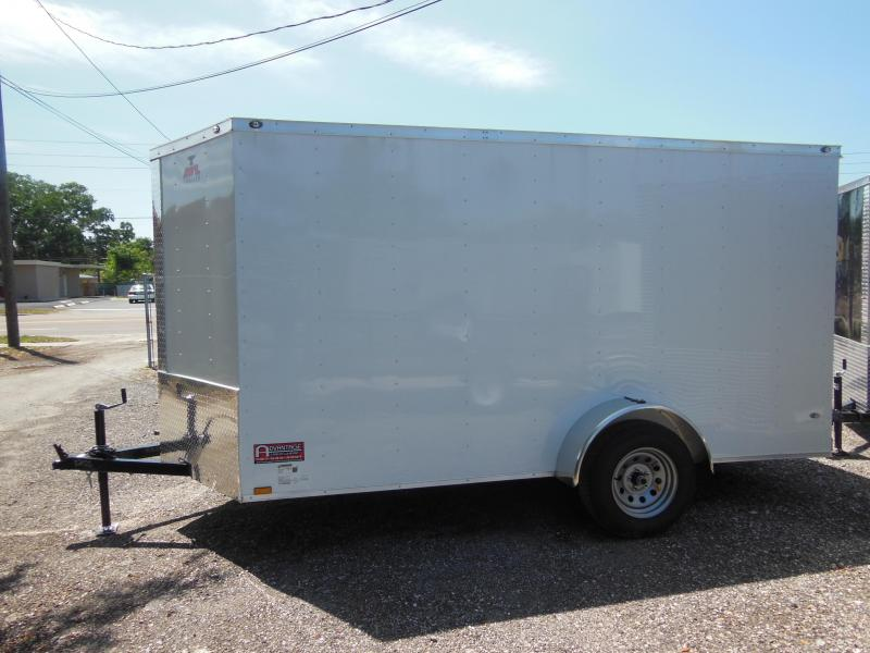 Anvil 6 x 12 v-nose Enclosed Cargo Trailer