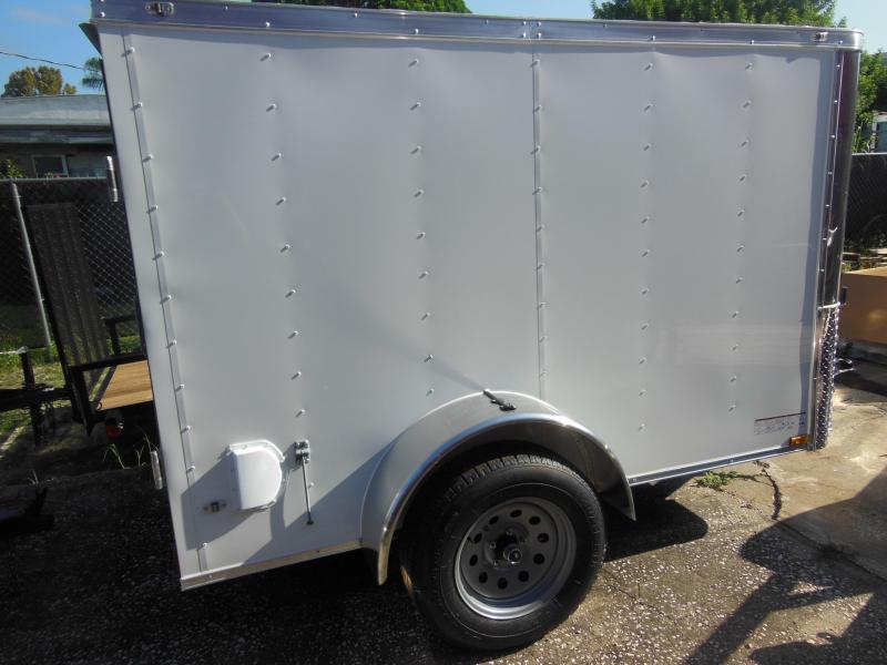 Anvil 5 x 8 double rear doors Enclosed Cargo Trailer