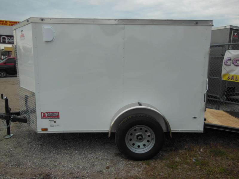 2019 Anvil 5 x 8 double rear doors Enclosed Cargo Trailer