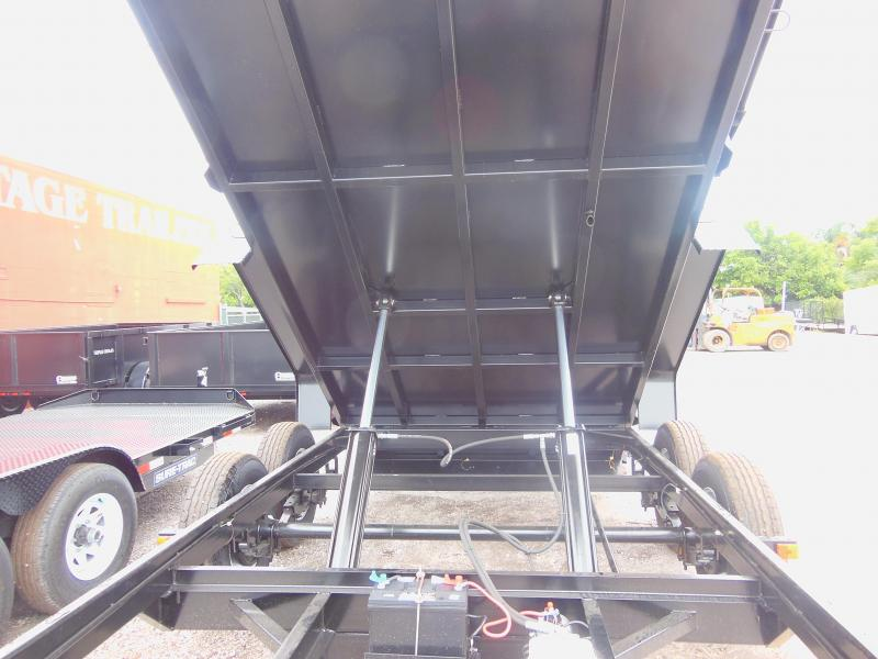 2020 Triple Crown Trailers 7 X 14 LP 14K Dual Ram Dump Dump Trailer