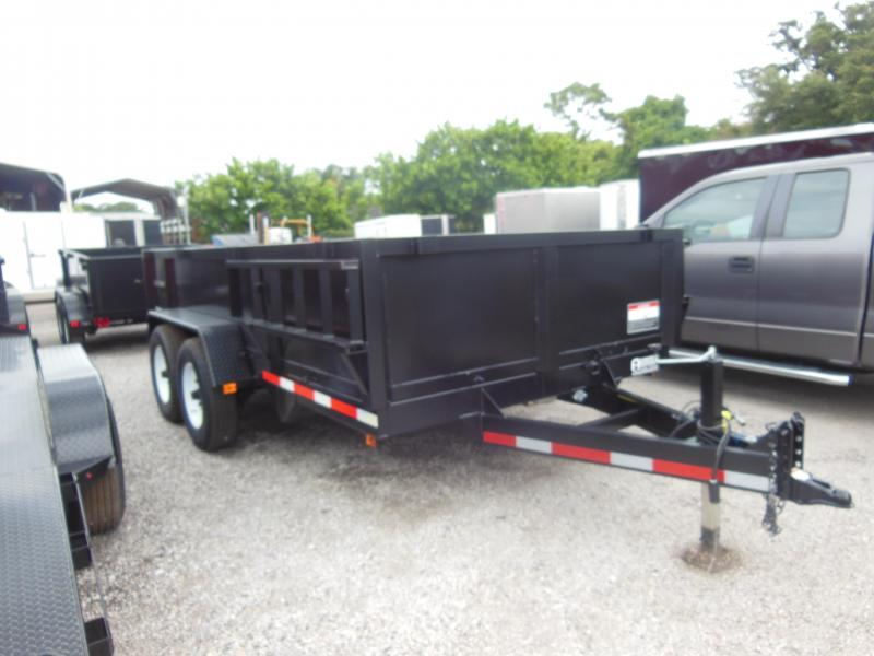 2019 Triple Crown Trailers 7 X 14 LP 14K Dual Ram Dump Dump Trailer