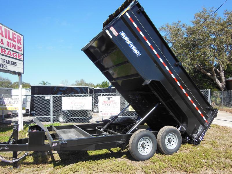 2019 Sure-Trac 7 X 14 W/4' SIDES 14K Dual Ram Dump