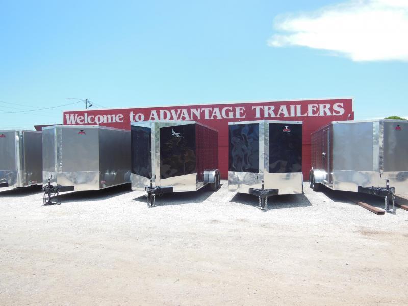 Anvil 7 X 14 TA Enclosed Cargo Trailer