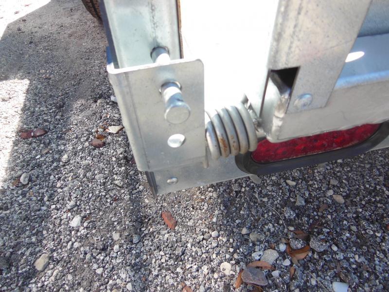 Sure-Trac 5 X 10 GALVANIZED Utility Trailer