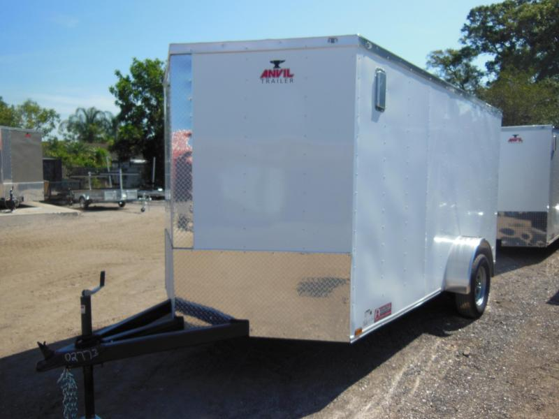 2018 Anvil 6 x 12 SA Landscape Enclosed Cargo Trailer