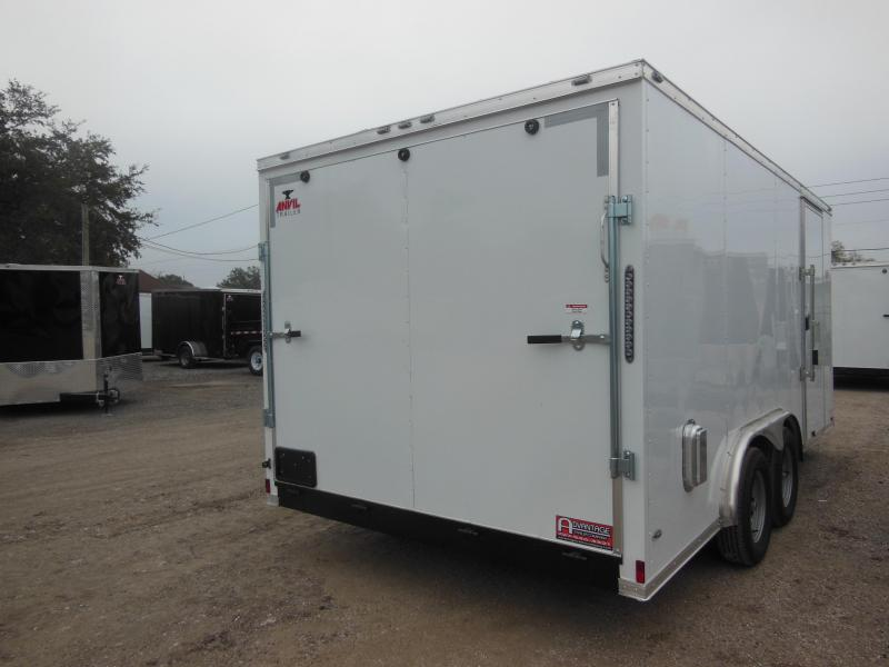 2018 Anvil 8 X 18 Landscape Edition Enclosed Cargo Trailer