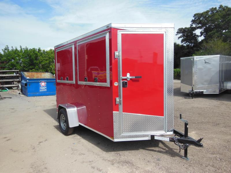 All Concession Trailers are built to order