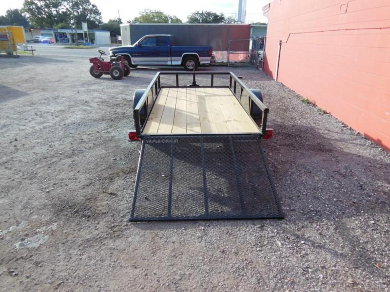 Triple Crown Open 5 X 10 SA Utility Trailer