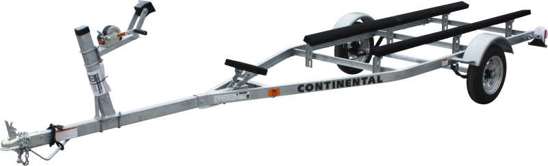 Continental Trailers GT1612 Galvanized Canoe/Kayak Watercraft Trailer