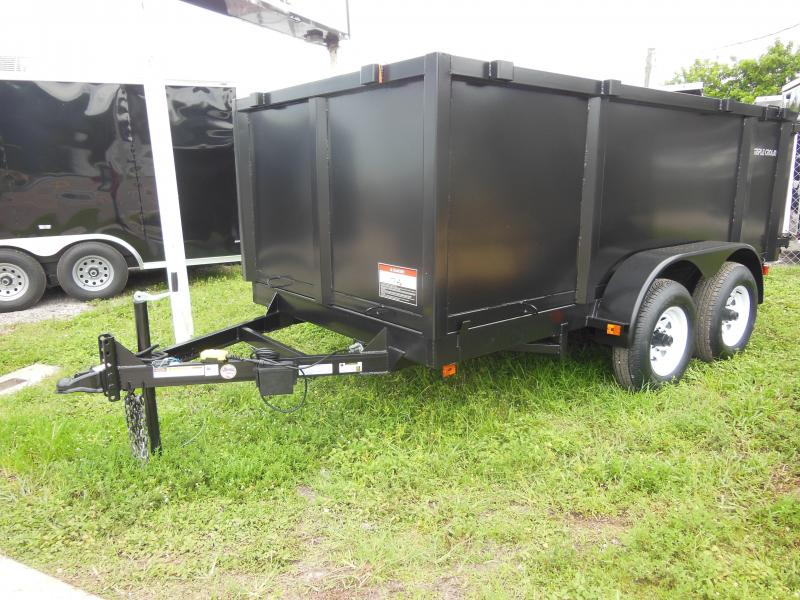 2019 Triple Crown Trailers 6 x 12 4' sides Dump Trailer