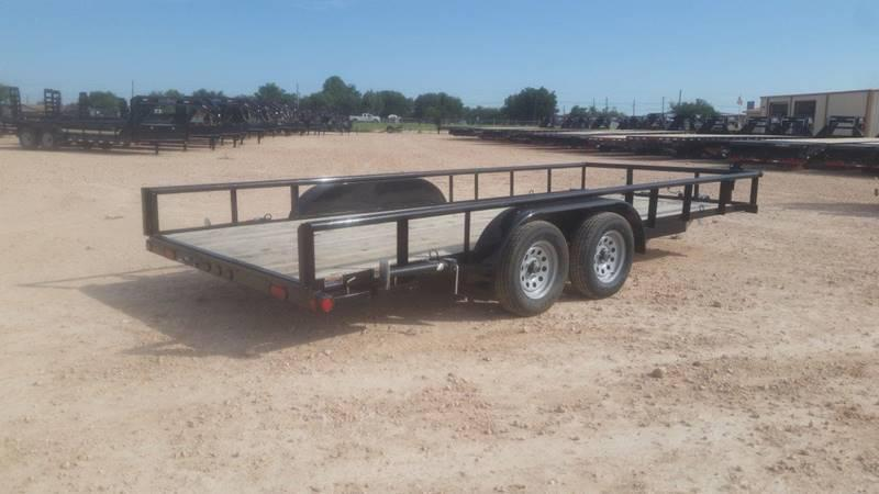 """2017 Load Trail 83""""x 18' Pipe Top"""